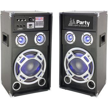 Party Karaoke 12 Sistema Amplificado 2 Vias