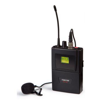 Fonestar MSHT-45P-512 Micrófono inalámbrico de petaca UHF