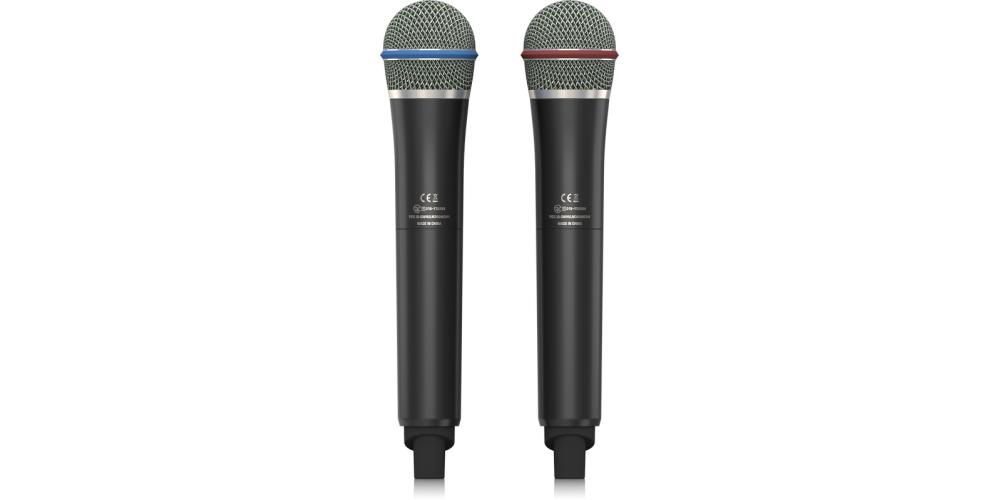 ULM302MIC behringer microfono mano doble