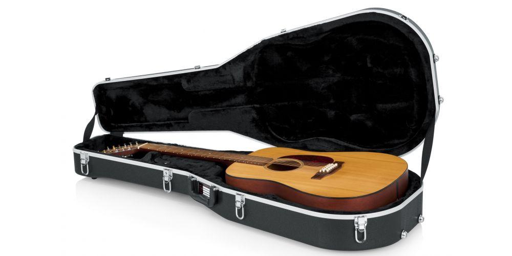 estuche guitarra acústica gator gcdread 12