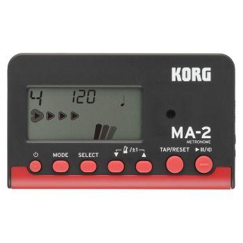 Korg MA-2 BKRD Metrónomo Negro y Rojo
