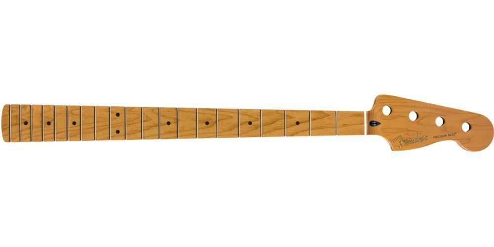 Fender Roasted Maple Precision Bass Neck, 20 Medium Jumbo