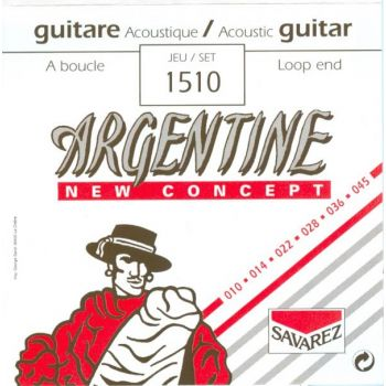 Savarez Argentine 1510 Set Cuerdas Guitarra Acústica/Gypsy