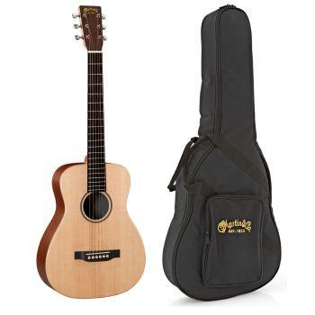 Martin LX1E Little Martin Guitarra Electro Acústica con Funda
