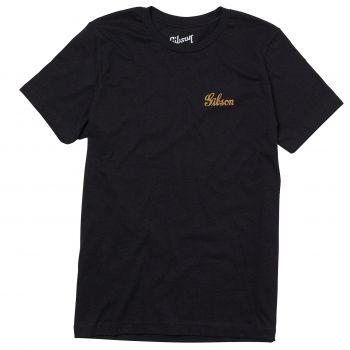 Gibson Banner Logo Tee MD Camiseta Manga Corta Talla M
