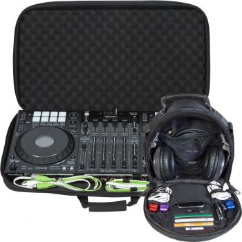 Walkasse Kit maleta DJ ligera 1 x W-MCB780 para DDJ-1000 y W-HEADPHONES-BLACK