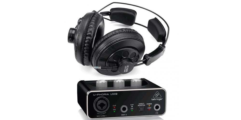 interface um2 hd 668b auriculares 256 ohm