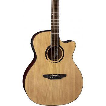 Luna Guitars Wabi Sabi Grand Concert Solid Top A/E Guitarra Electroacústica