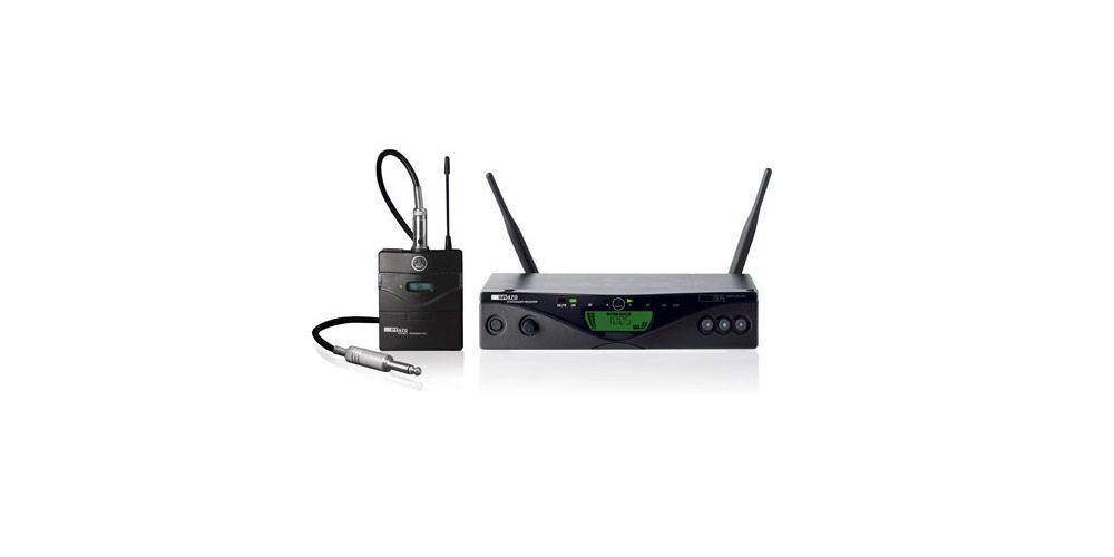 AKG WMS-470 PT Microfono Inalambrico Inst. SR470 + PT470 y Cable MKGL