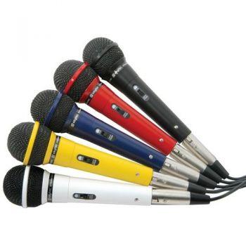 Fenton 173123 Conjunto 5 Microfonos Vocales