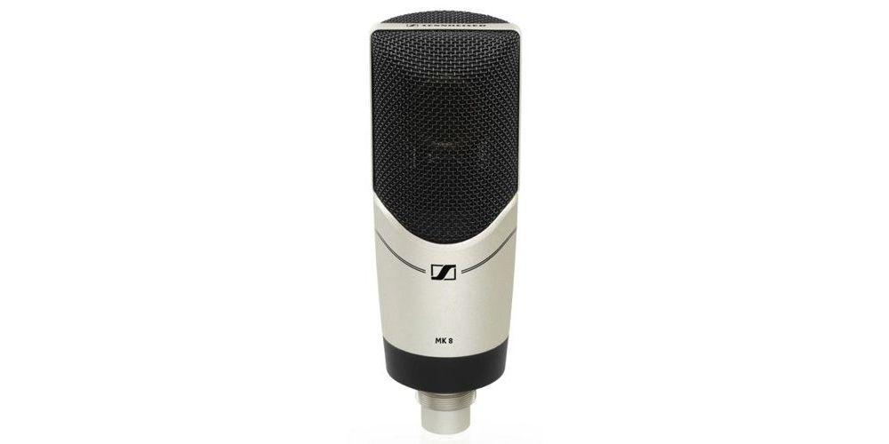 sennheiser mk 8 microfono estudio gran difragma