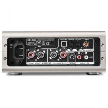 DENON PMA-50 Silver Premiun Amplificador Tamaño Compacto