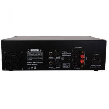 IBIZA SOUND AMP1000USB-BT, Etapa Potencia 2 x 800 W, USB y BLUETOOTH