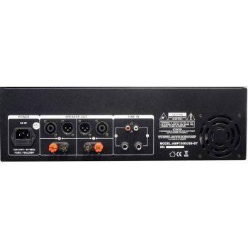 IBIZA SOUND AMP1000USB-BT Etapa Potencia 2 x 800 W, USB y BLUETOOTH