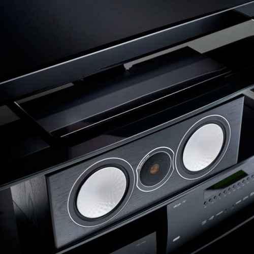 Monitor Audio Silver Centre negros Altavoz