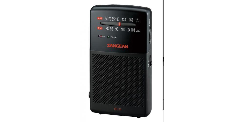 sangean sr35 radio fm am
