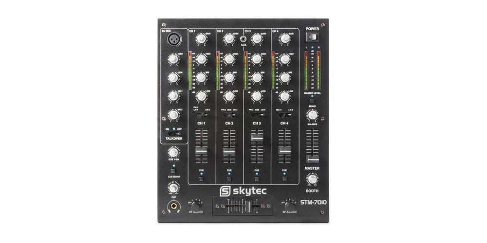 SkyTec STM-7010 Mezclador 4 canales DJ USB 172880