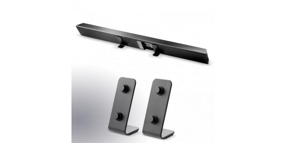 focal dimension barra de sonido soporte