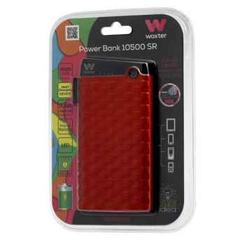 WOXTER Power Bank 10500 SR Rojo