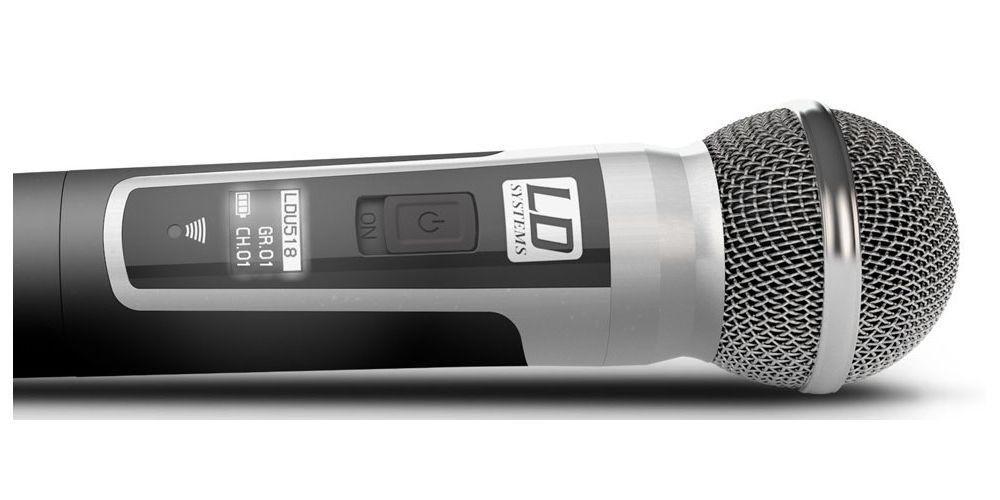 microfono ldsystem u518 hhd