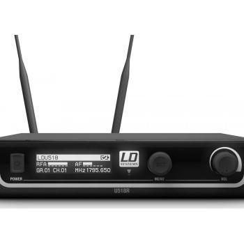 LD Systems U518 HHD Sistema Inalámbrico con Micrófono de Mano dinámico