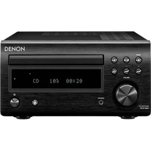 Denon RCD M41 Black radio cd rcdm41 bk