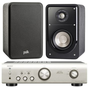 Equipo HiFi. DENON PMA-520 SI + POLK AUDIO S15E BK Equipo 520/S15e SCD