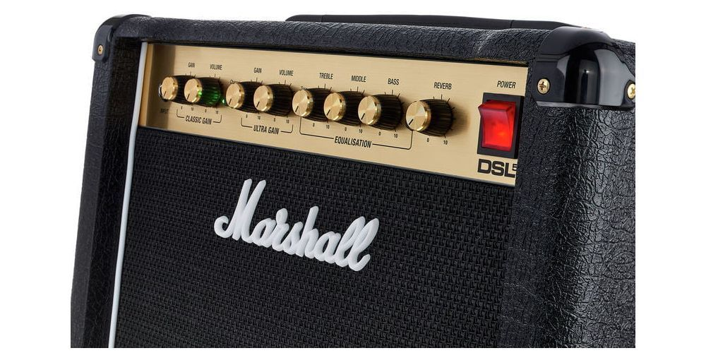 MARSHAL DSL 5 COMBO control