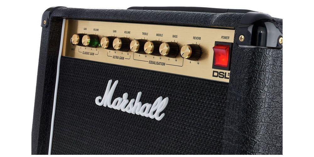 MARSHAL DSL 5 COMBO control