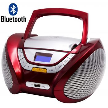 Lauson CP449 Radio CD USB  Bluetooth Rojo