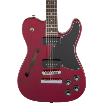 Fender Jim Adkins JA-90 Telecaster Thinline RW Crimson