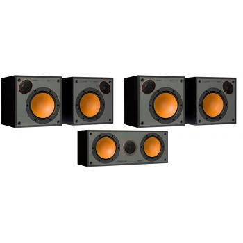Monitor Audio Monitor 50 Pack 5.0 Black altavoces Home Cinema