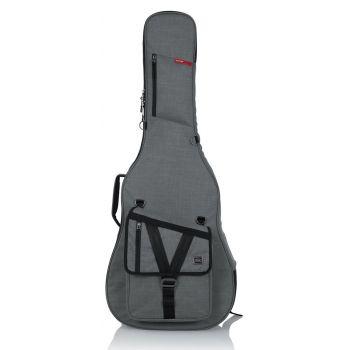 Gator GT-ACOUSTIC-GRY Bolsa de Transporte para Guitarra Acústica Serie Transit Gris