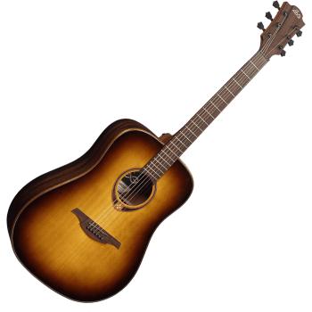 LAG T118D-BRS Guitarra Acústica Formato Dreadnought Serie Tramontane