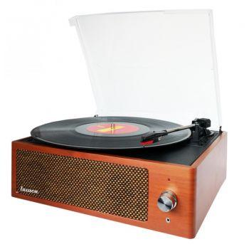 Lauson XN092 Tocadiscos Vintage Bluetooth Encoding FM USB