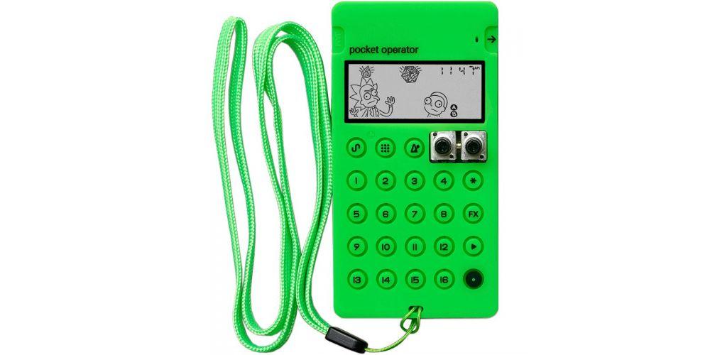 teenage engineering pro case ca x neon green