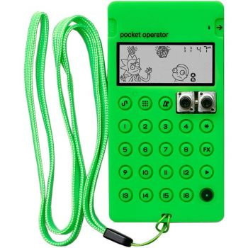 Teenage Engineering Pro Case CA X Neon Green Funda para Pocket Operator