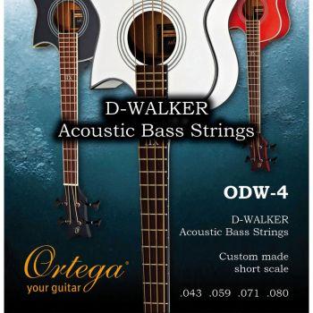 Ortega Odw-4 Set de Cuerdas para Bajo Acústico