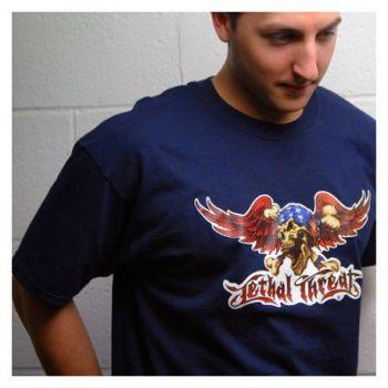 Planet Waves T-Shirt Lethal Threat Talla L