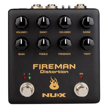 NUX NDS-5 Fireman Distortion Pedal De Distorsión 2 Canales