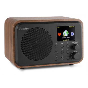 Audizio Venice Radio Wifi Internet + BT Con Batería Color Madera 102222