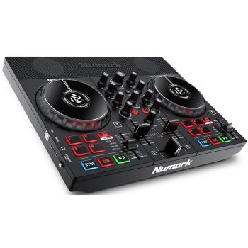 Numark Party Mix Live Controlador DJ con Interface de Audio, Show de Iluminación LED y Altavoces Integrados