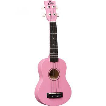 Eko UKU PRIMO Ukelele Soprano Pink con Funda