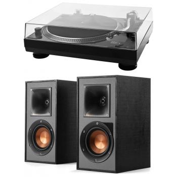 Music Hall USB1 Giradiscos+ Altavoces Bluetooth klipsch-R41-PM Conjunto de Audio
