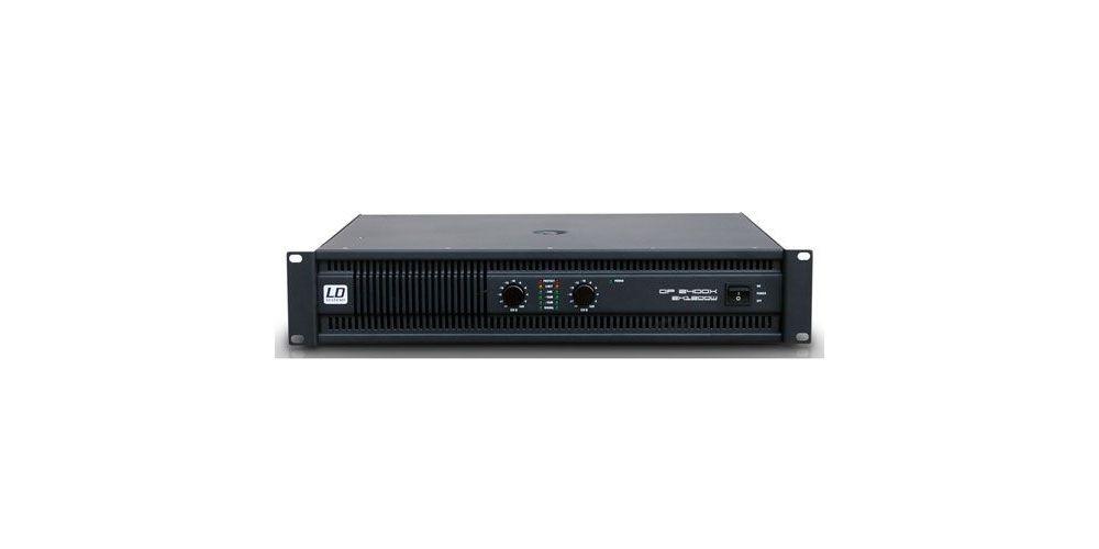 LD SYSTEMS DEEP²  2400X Etapa de Potencia  2 Canales  LDDP2400X