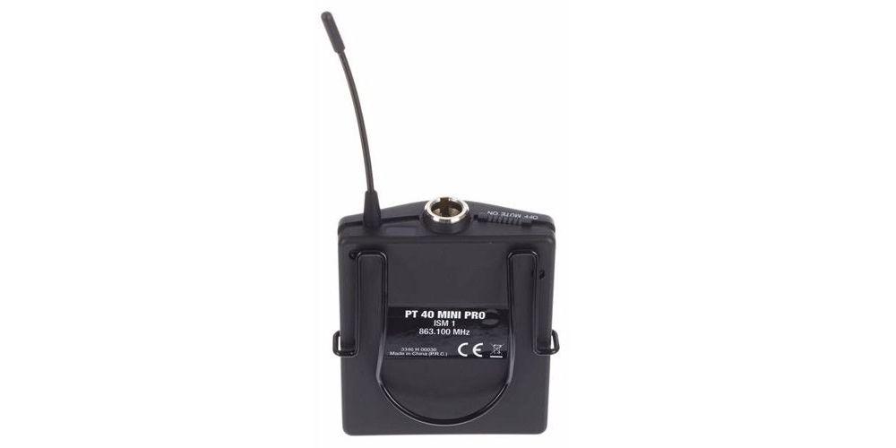 AKG WMS-40 MINI INSTRUMENTAL SET Microfono Inalambrico  Petaca ISM2