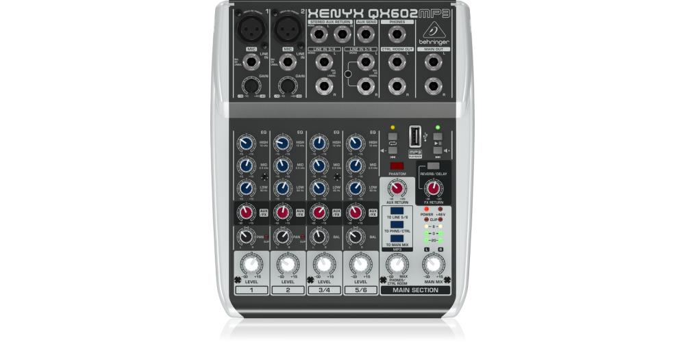 behringer QX602MP3