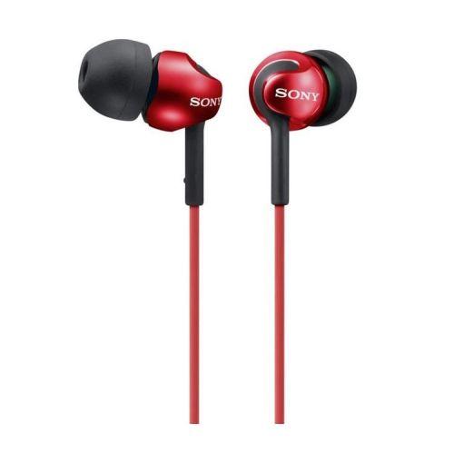 SONY MDR-EX110LPR Auricular Intraural Rojo