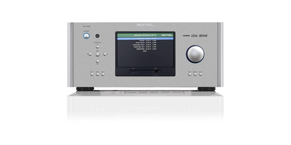 rotel rsp1582 silver procesador sonido