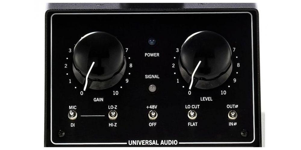 universal audio solo 610 control